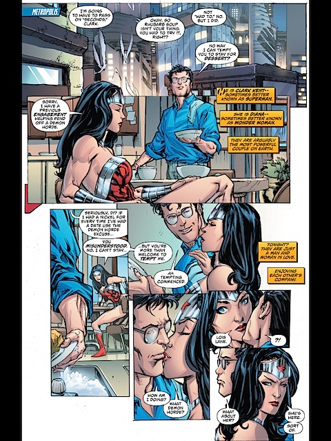 Diana and Clark date