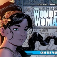 Weekly Wonder Woman: The Legend of Wonder Woman #4, Harley Quinn's Little Black Book #1