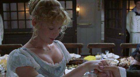Marion Chumley (Joanna Page) meets Talbot in To The Ends of the Earth