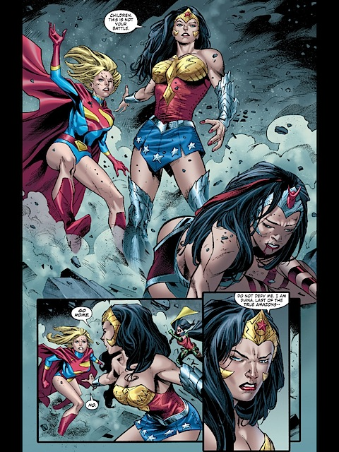 Alternative Wonder Woman shows up