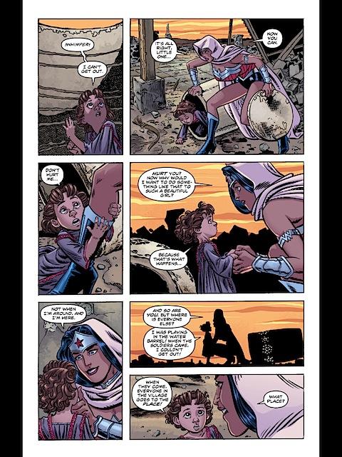Wonder Woman finds Siraca