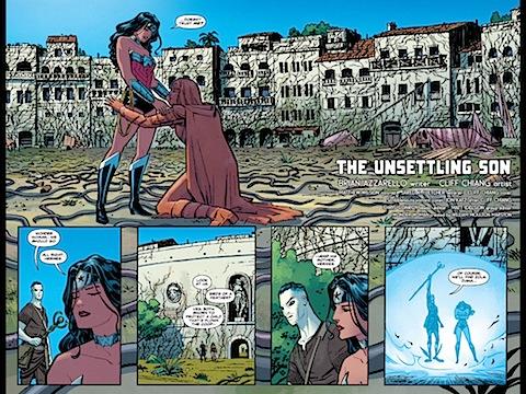 Diana back on Paradise Island
