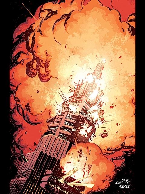 Olympus explodes