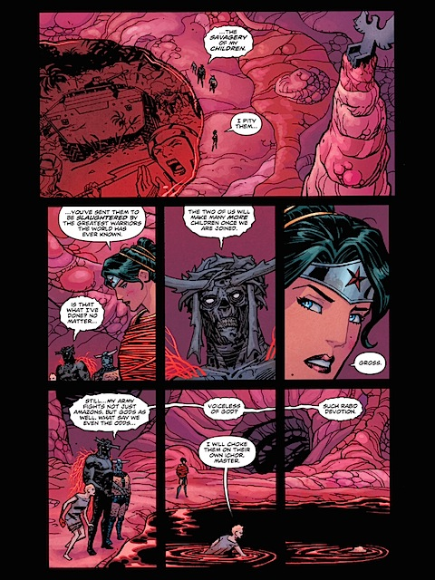 Wonder Woman is threatened again