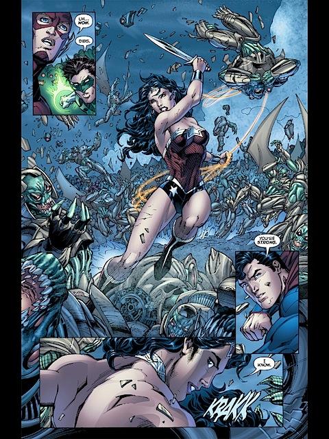 Superman and WW flirt