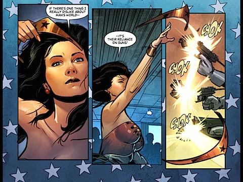 Wonder Woman hates guns