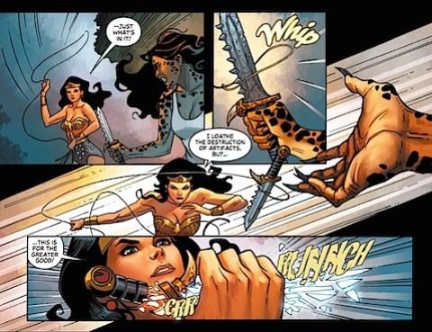 Cheetah's dagger destroyed