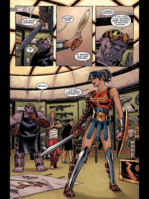 Wonder Woman's new outfit