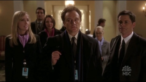 The West Wing's finale