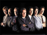 The West Wing's cast during its first season