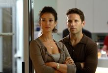 Indira Varma and Mark Feuerstein