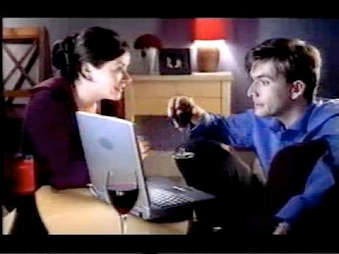 David Tennant in the Boots ad