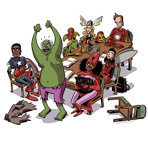 Community as The Avengers