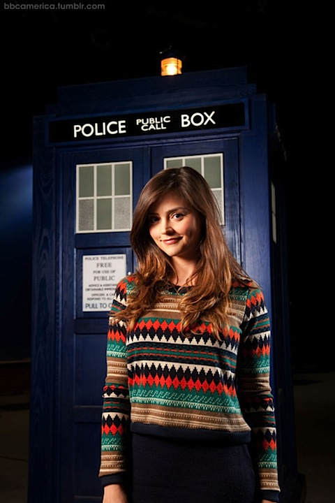 Jenna-Louise Coleman in Doctor Who