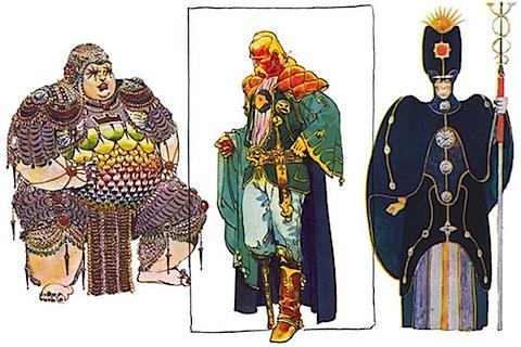 Moebius designers for Jodorowsky's Dune
