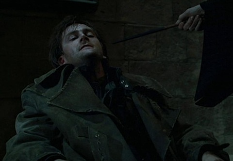 David Tennant in Goblet of Fire