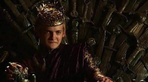 Jack Gleeson as Joffrey in Game of Thrones