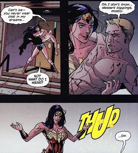 Nemesis and Wonder Woman