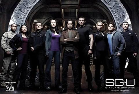 Stargate Universe cast