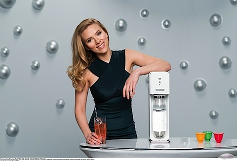 Scarlett Johansson and SodaStream