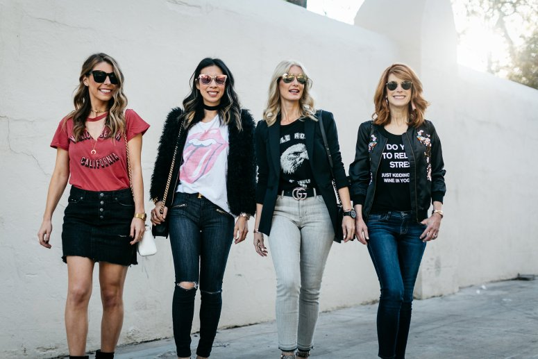 GRAPHIC TEES- CHIC AT EVERY AGE- DALLAS FASHION BLOGGERS