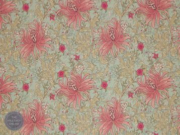 floral fabric flower print material