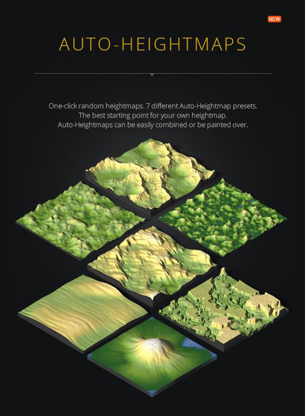 3D Map Generator - Terrain from Heightmap - 4