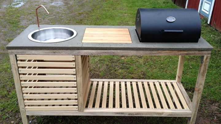 build an outdoor kitchen diy project