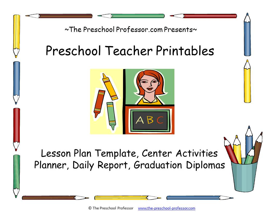 Preschool Professor Blog