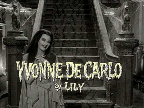 Image result for Yvonne De Carlo munsters