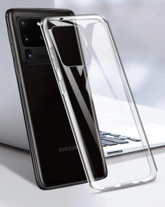 TopACE Silicone Clear Shockproof Case for Galaxy S20 Ultra