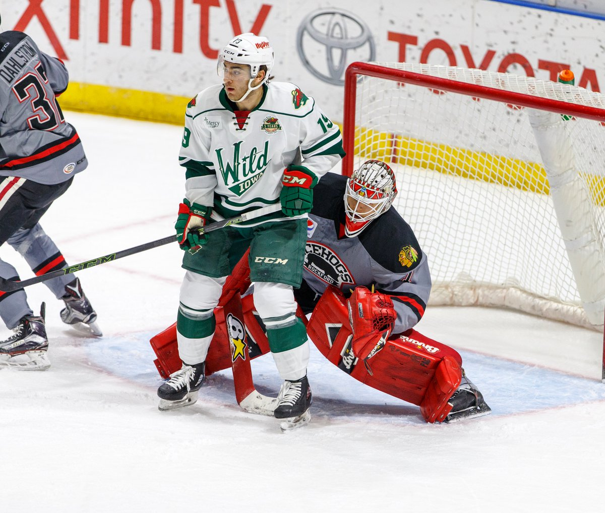 AHL: Recap - IceHogs Drop Two Of Three To End 2017 Calendar