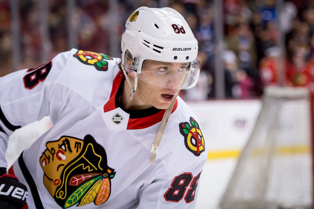 36ac6fb4e The Rink Capture Patrick Kane Highest Rated Chicago Blackhawk In NHL 19  Patrick Kane Jonathan Toews