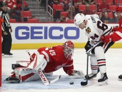 The Rink 1036973124_slide-e1537902452309 Blackhawks Fall to the Red Wings 4-2 in Second Preseason Game Detroit Red Wings Chicago Blackhawks