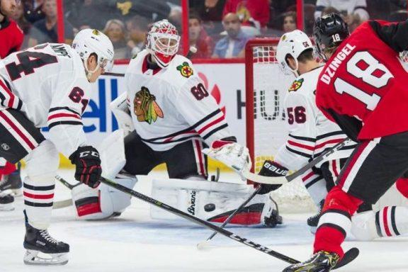 The Rink BlackhawksSens2018_2-e1537627119384 Preseason Recap: Blackhawks Beat Senators 5-2 Ottawa Senators Chicago Blackhawks