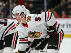 Connor Murphy Chicago Blackhawks