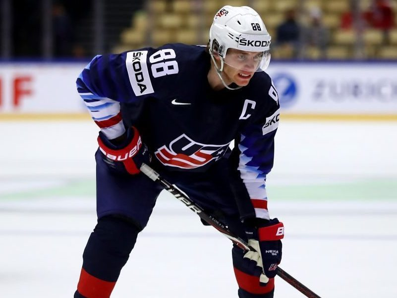 0f31acce7 The Rink GettyImages-959548760-e1555362682404 Patrick Kane named Team USA  Captain for IIHF World