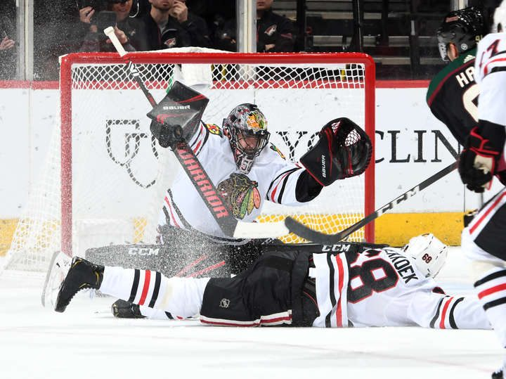 Along the Boards: Blackhawks avoid season sweep with 3-2 shootout win over Coyotes