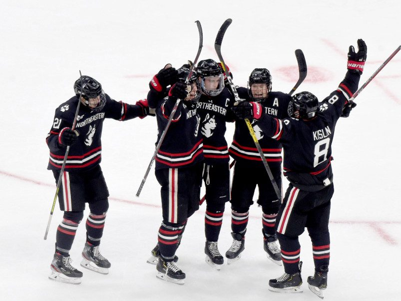 Blackhawks at the Beanpot: Shea, Vlasic, and Wise reach Final