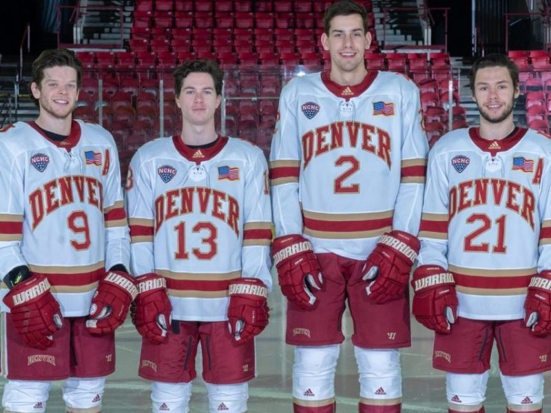 Pioneers secure No. 3 seed in NCHC playoffs after Colorado College sweep