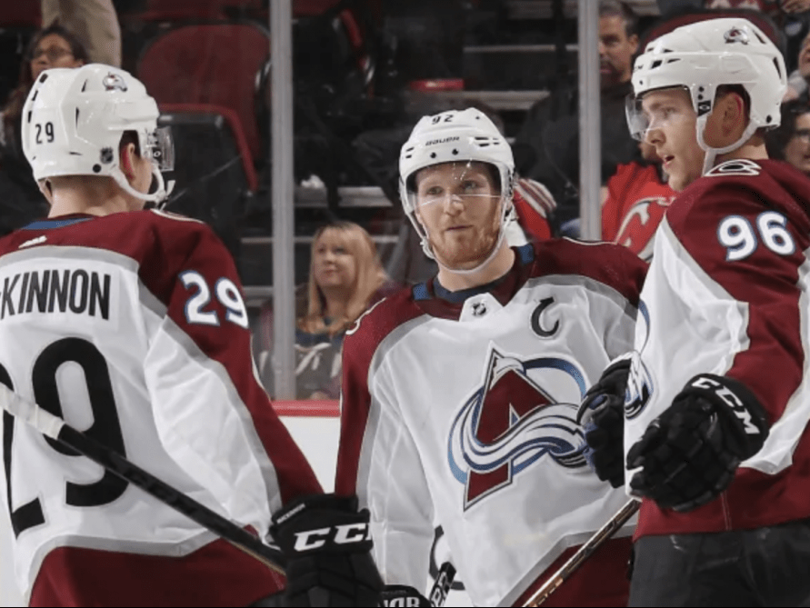 Colorado Avalanche top line reunited after dismal start
