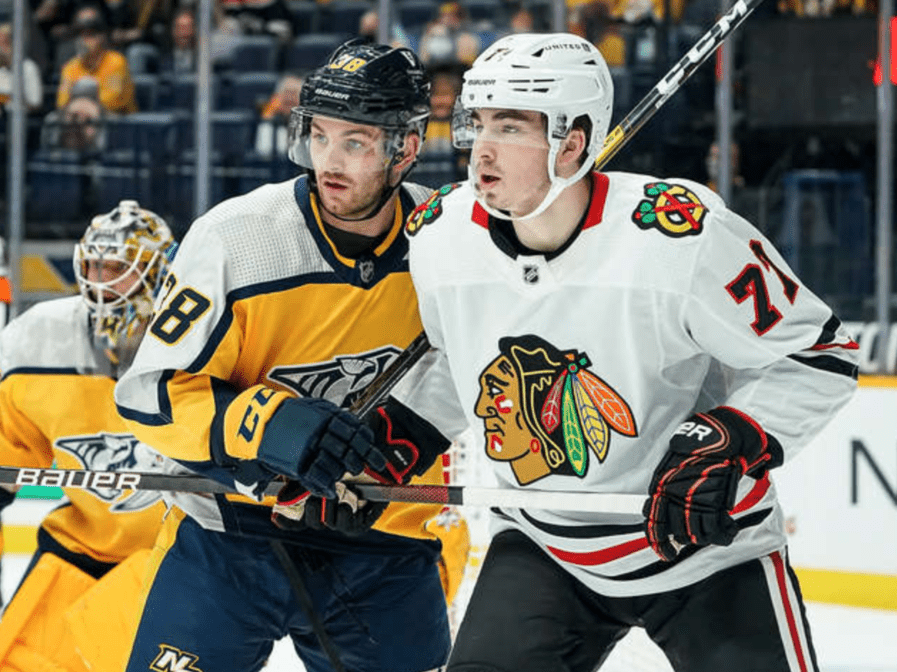 RECAP: Blackhawks lose ground, sign two, trade for one in busy week