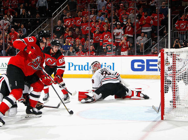 Blackhawks erase two-goal third-period deficit but lose in overtime at New Jersey