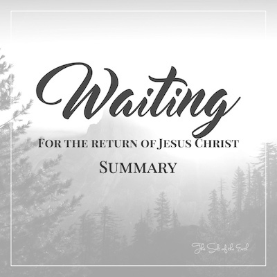 return of Jesus summary