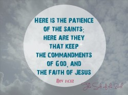 keeping the commandments of God