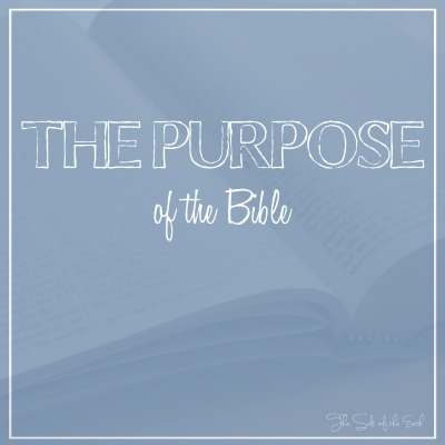 purpose of the Bible