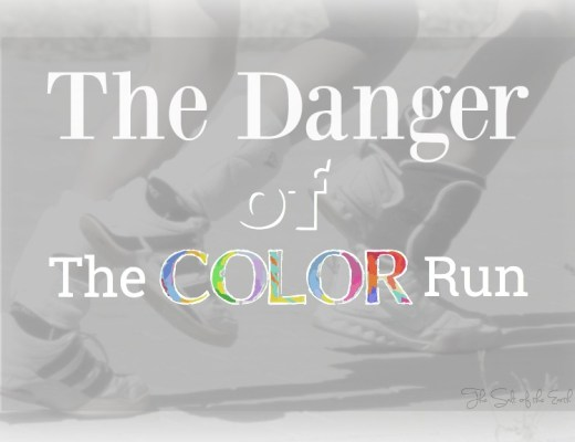 The danger of the color run