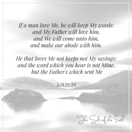 When you love Jesus you shall keep His commandments