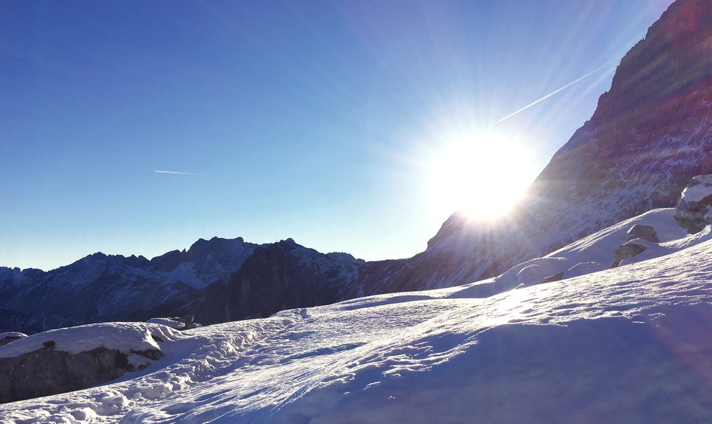 Winter Ascent Alpspitze 2015