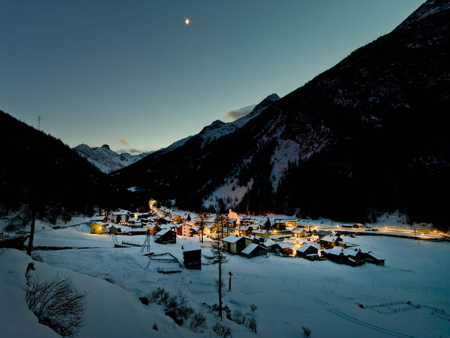 Saas-Fee in winter- Photo credit: Matterhorn Region- Saas Fee.